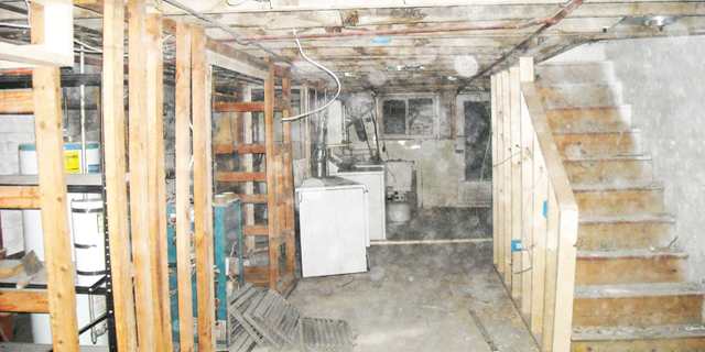 BEFORE: Basement Fire